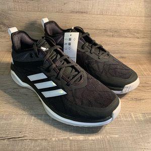 Adidas Speed Trainer 4 Baseball Shoes Black White